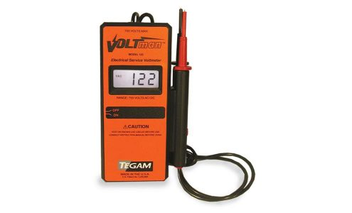 Voltman Industrial Safety Voltmeter with Audible Tone and Continuity Tester
