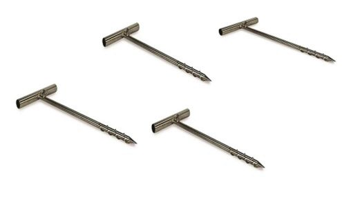 Set of 4 heavy duty ground stakes