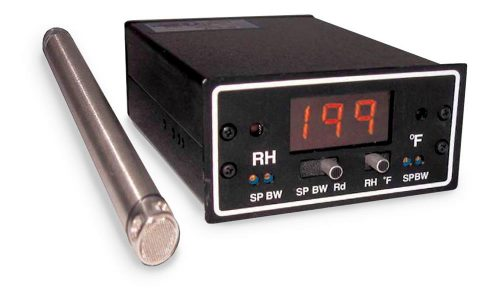 "RH/Temperature Controller and 10"" Stainless Probe"