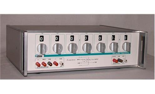 7 Decade AC Precision Ratio Standard