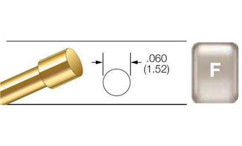 Flat Tip Pin Kit, 4 per pack