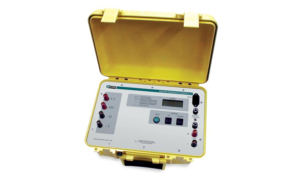 10 MΩ TO 20 KΩ Auto-Ranging Portable Ground Resistance and Bond Meter