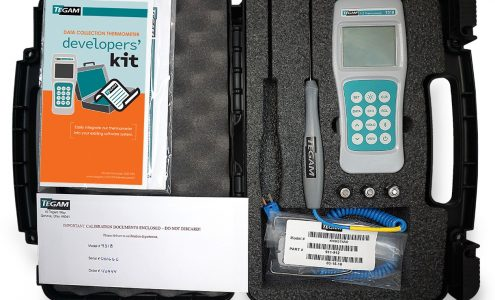 TEGAM 931B Thermocouple Data Logger Thermometer Kit ISO 17025 Cal Report