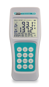 TEGAM's 931B data logging digital thermometer for temperature measurement and recording for Heat Treat systems and more!