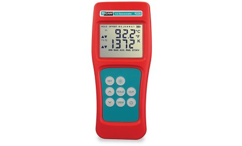 Digital, Dual-Channel Intrinsically Safe Thermometer